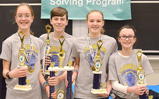 Future Problem Solvers Earn Top Awards at State Bowl Competition