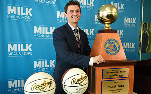 Foster Loyer Named Mr. Basketball