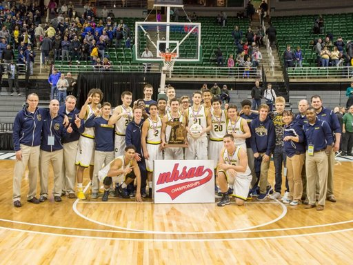 Clarkston Wins 2017 Boys Basketball State Championship