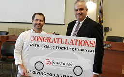 Chris Brosky Named Teacher of The Year
