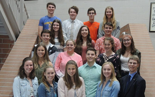 CHS, RHS Scholars Honored by Clarkston State Bank