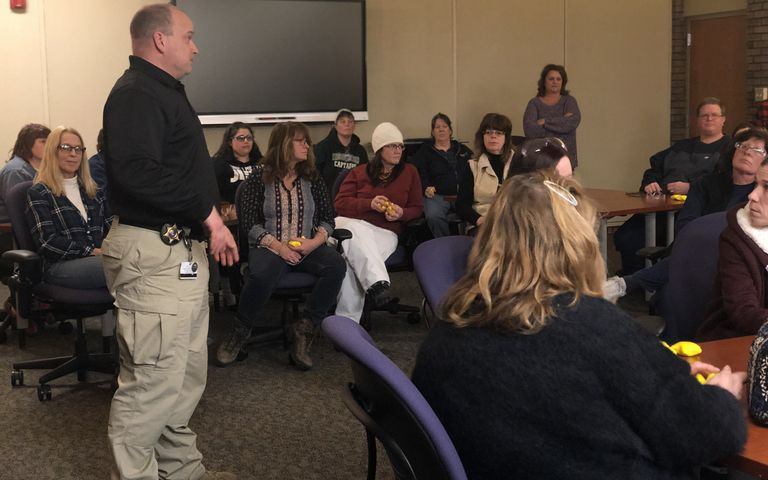 District Partners with Oakland County Sheriff's Office Partner in Active Shooter Response Training