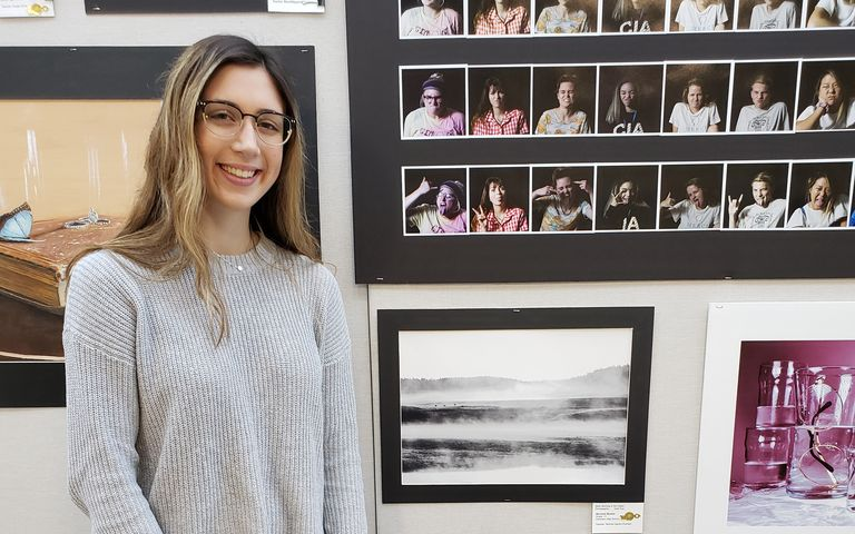 With a Passion for Art, Student Wins Regional Awards