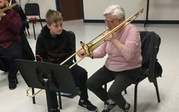 "SMS Band Students Get a Chance to ""Be the Teacher"""