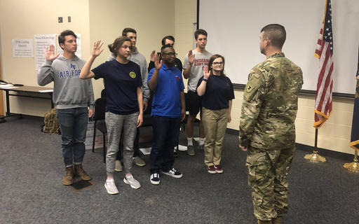 CHS Holds Second Annual Military Signing Day