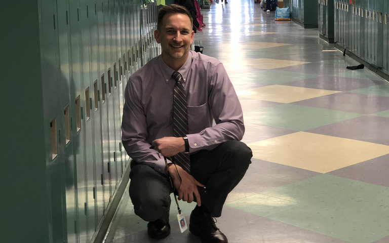 Superintendent Ryan Recharges for Another Year