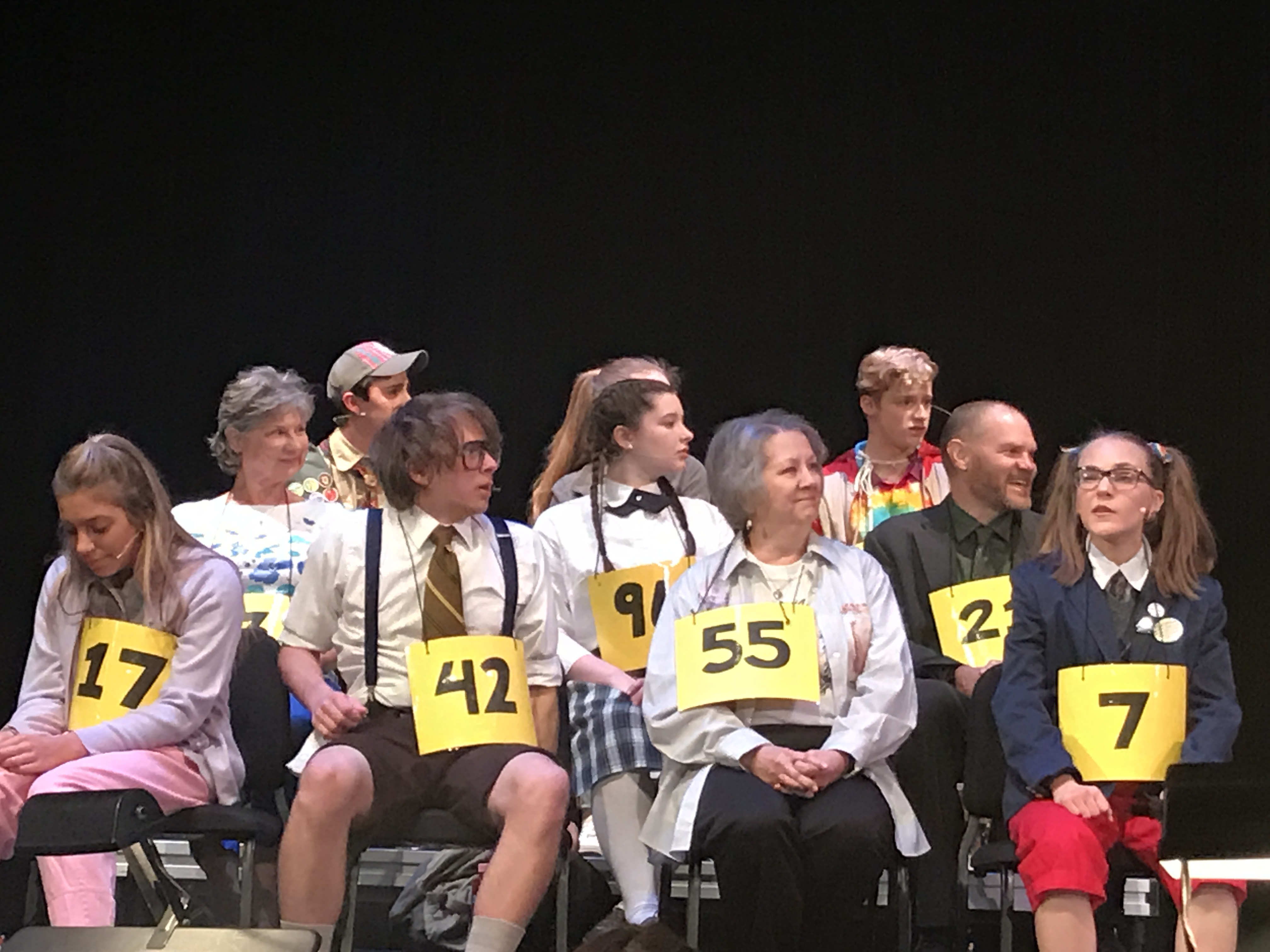 Cast of Putnam County Spelling Bee