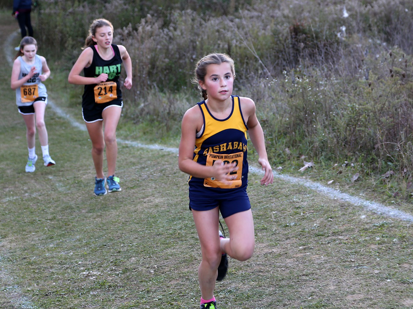 Middle School XC Runner